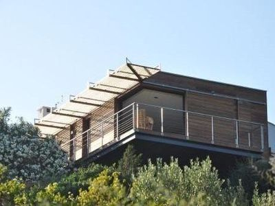 Photo for Villa first line with swimming pool overlooking the mediterranean