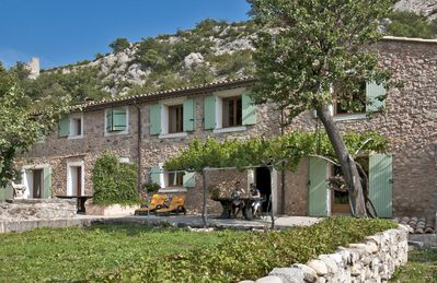 Photo for Old provencal house type setting and countryside near Sisteron center