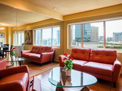 Photo for 2 Bdrm Chic Penthouse Condo Ajacent WA State Convention Ctr Downtown Seattle