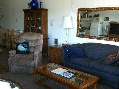 The living area is roomy and comfortable.