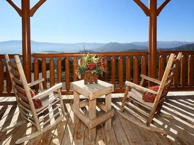 Photo for Mountain Top Retreat: Best mountain views in the Resort