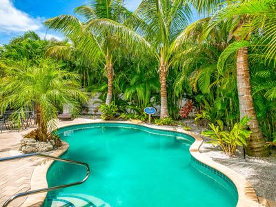 Photo for Coconut Lagoon: Gorgeous,Heated Pool, Awesome North-End, 1.5 Blocks to the Beach