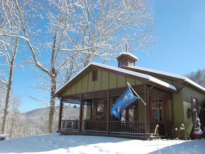 Photo for Coexist Cottage ~ Your Escape to a Mountain Sanctuary