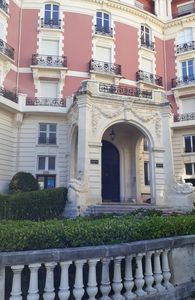 """Photo for Studio Biarritz center beach in residence of high standing """"The CARLTON"""""""