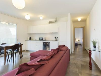 Photo for Beautiful apartment with terrace in residential district of Lugano - ROGGIA 10