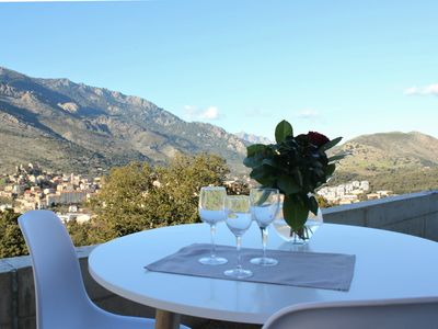 Photo for Let yourself be tempted by this NEW T2 of 45 m² in the heart of Corsica.