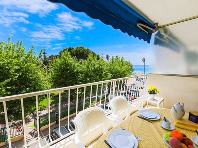 Photo for PLAGE DU MIDI AP4145 by RIVIERA HOLIDAY HOMES - Apartment for 4 people in Cannes