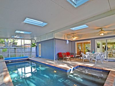 Photo for Private Siesta Key Vacation Rental Home W/ Heated Pool on Quiet Street