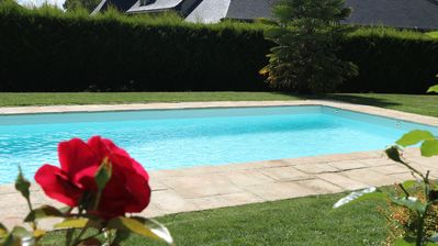 Photo for Detached house 4-6 pers. with heated pool in Matignon (Côtes d'Armor)