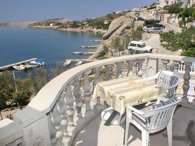 Photo for One bedroom apartment near beach Zubovići (Pag)