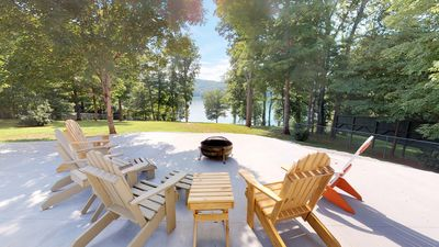 Photo for Recently Renovated 3BR/3BA Cabin, w/ Lake View, Private Launch, and Pet Friendly