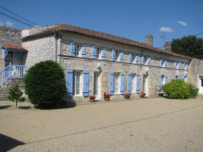 Photo for Beaurepaire : Gite (country Cottage) for 6 people with swiming pool.