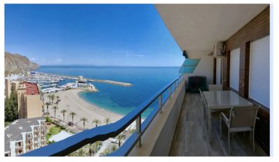 Photo for Spacious and modern 50 m to the beach, sea view!