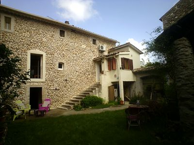 Photo for 3BR House Vacation Rental in Barjac, Occitanie