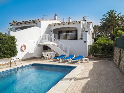 Photo for Semidetached 4 double bedroom Villa with Private pool and Sea Views.