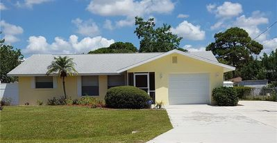 Photo for 2 Bedroom, 2 Bath Home! Solar Heated Saltwater Pool! Bike to Manasota Beach!