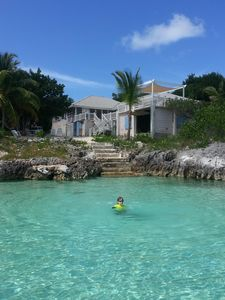 Photo for Caribbean Oceanfront in Beautiful Bahamas!Affordable , family friendly!