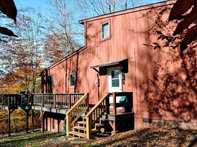 Photo for Secluded Cabin in the woods! Close to skiing! Dolly Sods access! sleeps 6