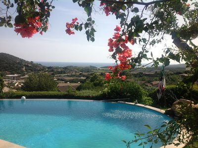 Photo for VILLA WITH PANORAMIC VIEWS ON THE BEAUTIFUL BEACHES AND WHITE DUNES OF CHIA