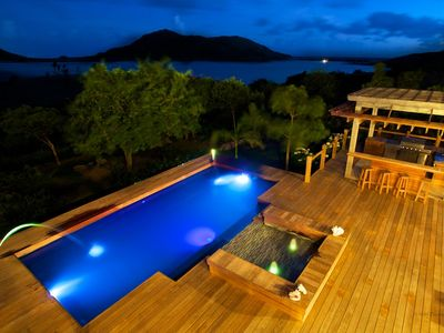 Photo for Beautifully landscaped private Caribbean heaven