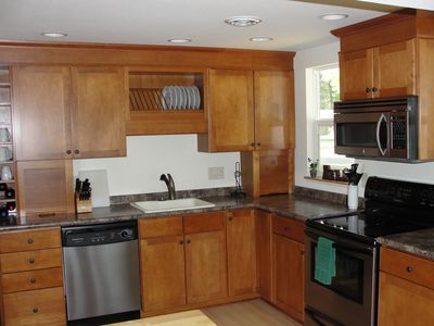 Large updated kitchen