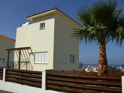 Photo for Villa Jason Heights - Sea views, WIFI, Pool &Jacuzzi. Gorgeous 2 bed villa