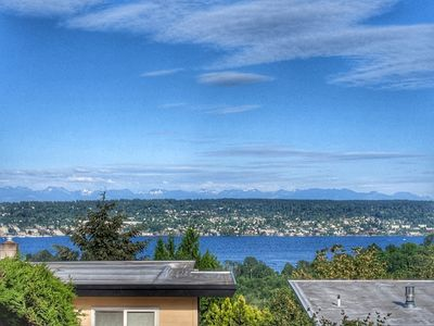 Photo for Master bedroom suite with amazing views of Lake Washington in Seattle