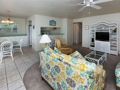 Photo for Unit B5: 2 BR / 2 BA partial gulf view in Sanibel, Sleeps 6