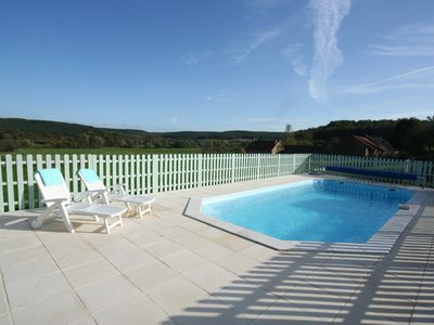 Photo for Beautifully renovated luxurious French farm house with swimming pool