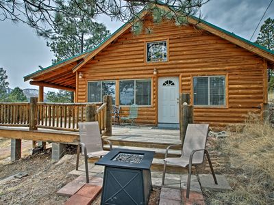 Photo for Alpine Cabin on 3 Acres w/Mtn View - Steps to Lake