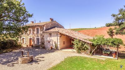 Photo for Puycelsi Villa, Sleeps 8 with Pool and WiFi