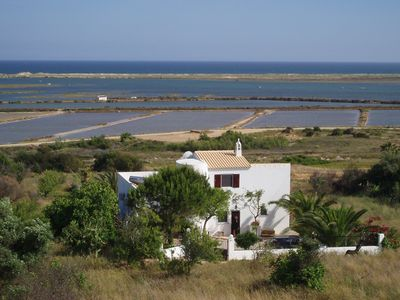 Photo for Charming villa with panoramic sea views