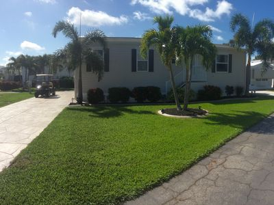 Photo for Beautiful Home in Fort Myers Beach gated community with pools spa and much more