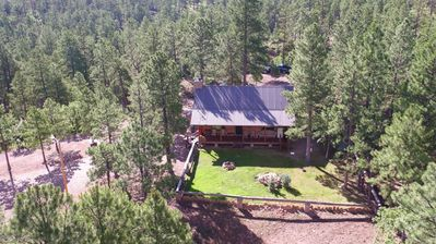 Photo for 20 Mountain Acres with Log Home and Equestrian Setup