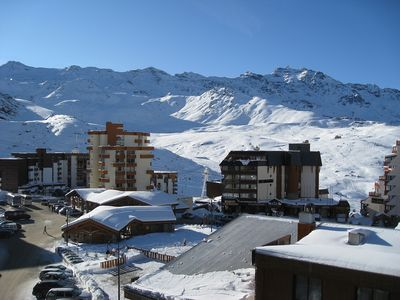 Photo for Excellent Ski-Flat In Val Thorens for 5 persons-fantastic view to the mountains