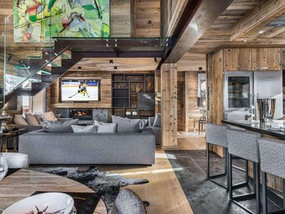 Photo for Chalet Lamartine : Chalet in the center - Design, Chic & Rock
