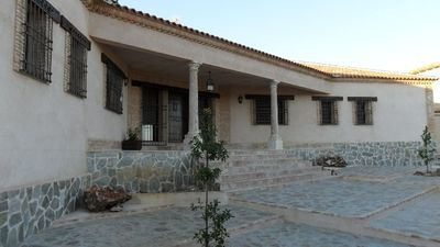 Photo for Rural house (full rental) Canteras de Cabañeros for 8 people