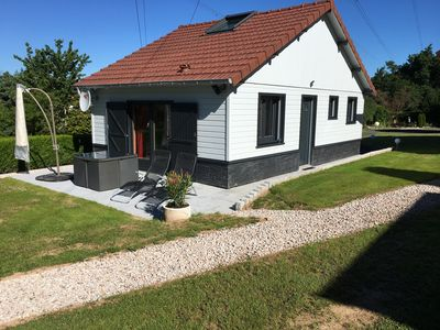 Photo for New chalet with jacuzzi, sauna, swimming pool