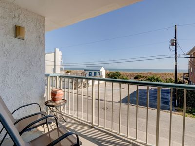 Photo for In Paradise–Ocean view condo at Paradise Towers w/ pool and easy beach access