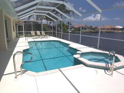 Photo for Michaela - 3b/2ba Cape Coral Vacation  Home, SW Cape Coral, Gulf Access Canal, Southern Exposure, Po