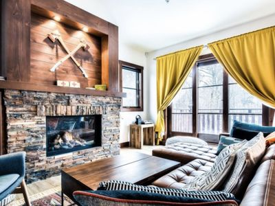 Photo for SPECTACULAR SKI IN - SKI OUT Golf Hiking Biking Casino Chalet in Mont Tremblant