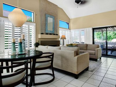 Photo for 2 King Master Suites, 2 Private Patios, Great for couples! Steps to Pool @ Silver Sands Racquet Club