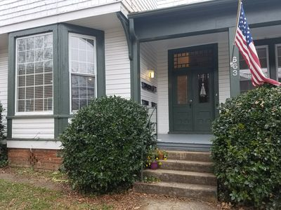 Photo for Historic Victorian Home - 2 BR Apartment - Downtown Winston-Salem