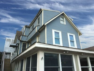 Photo for 21B Baltimore Ave - Large two-level apartment in 1924 beach cottage. Beach block. Use of boardwalk swimming pool and beach equipment. Off street parking. Sleeps 8, ** Includes Linens + Towels **