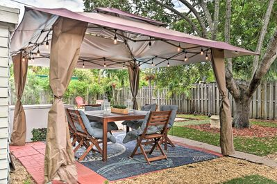 You'll love entertaining in your private outdoor oasis.