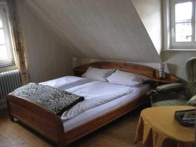 Photo for Double Room with Bath - Haus am Wald