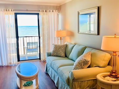 Photo for Never Rented - Completely Renovated Ocean Front Sleeps 6