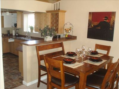 Photo for Brand New Furnished Budget Friendly Condo, Hot Tub, Free Shuttle, Free WiFi!