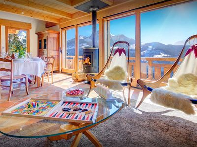 Photo for 4* Great views from the sauna at this cosy French Alps chalet - OVO Network