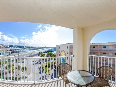 Photo for Awesome Decor in Large Unit with Sweeping John's Pass Views from Top Floor Balcony - Free Wifi